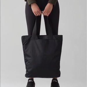 Lululemon Double Up Tote Bag Black